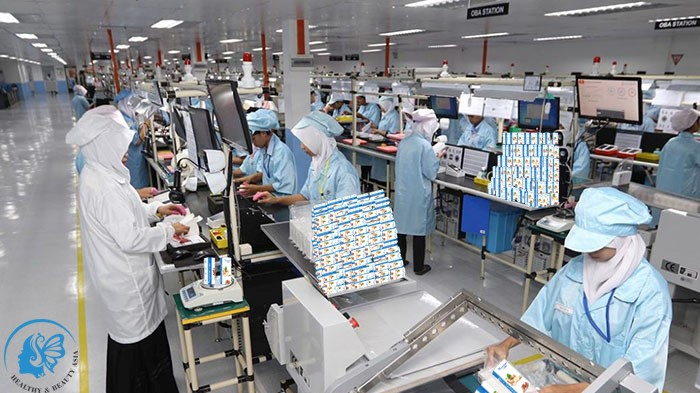 Dây chuyền đóng gói và kiểm tra sản phẩm theo tiêu chuẩn Châu Âu.