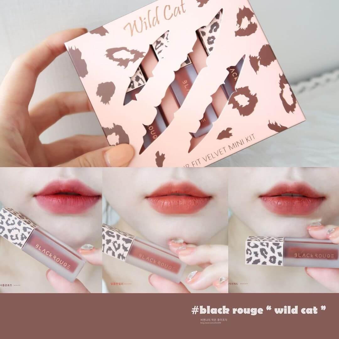 Review Black Rouge Air Fit Velvet Mini Kit Wildcat