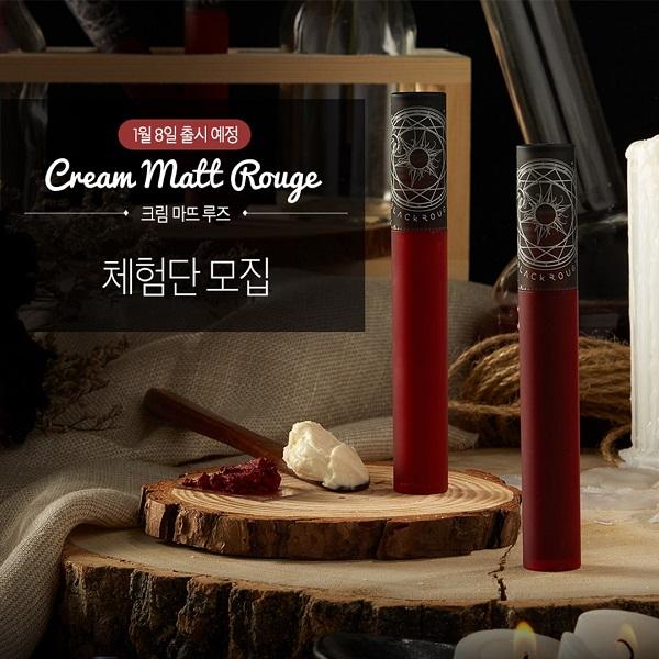 MỚI] Son Kem Lì Black Rouge Cream Matt Rouge